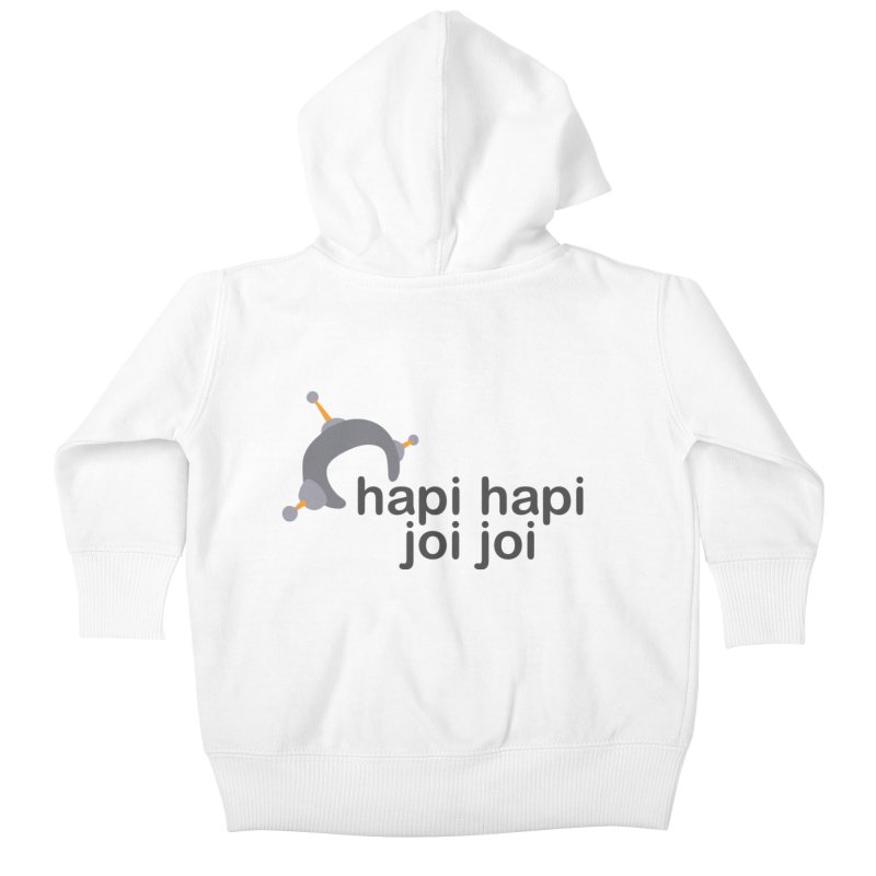 hapi hapi joi joi (Light) Kids Baby Zip-Up Hoody by hapi.js
