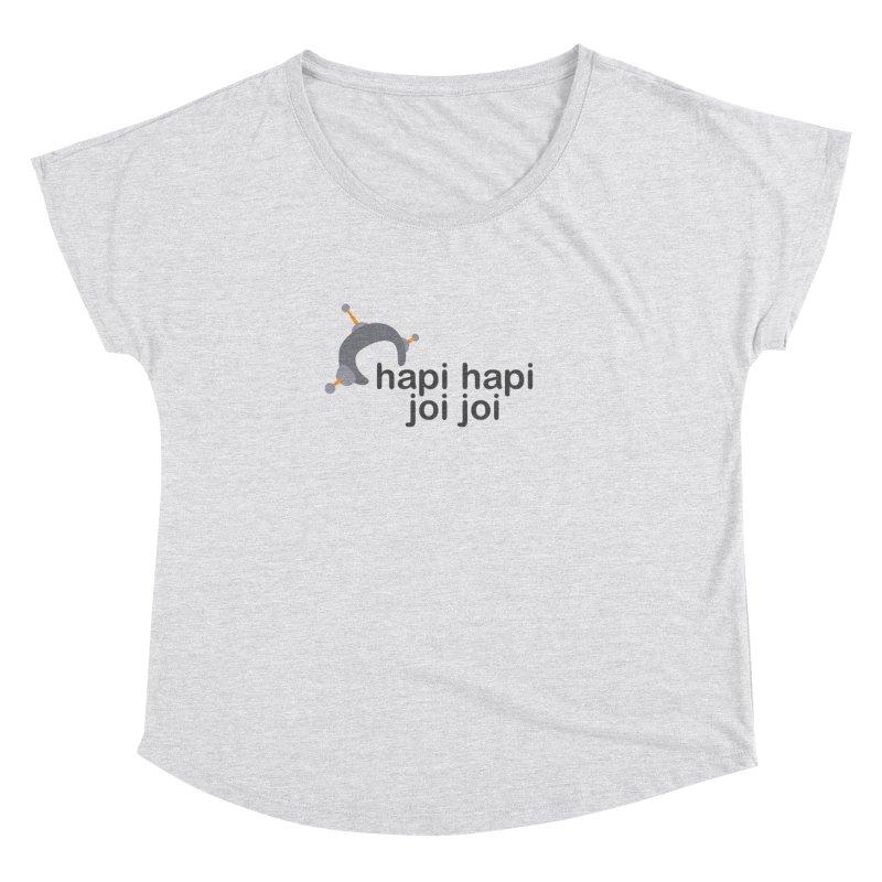 hapi hapi joi joi (Light) Women's Dolman Scoop Neck by hapi.js