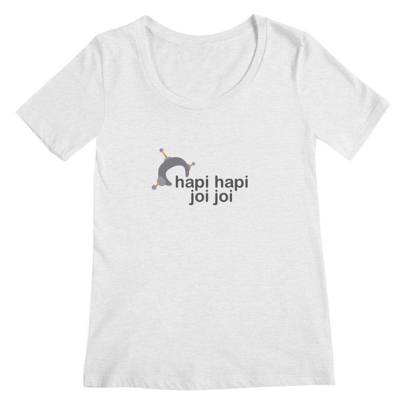 hapi hapi joi joi (Light) Women's Regular Scoop Neck by hapi.js