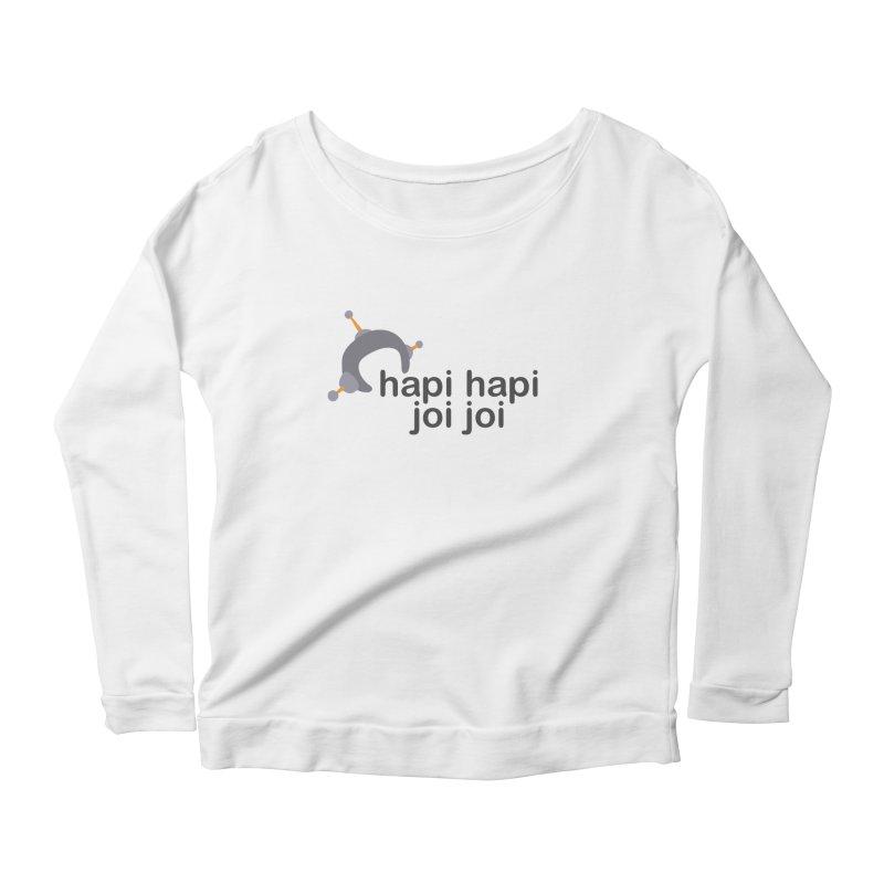 hapi hapi joi joi (Light) Women's Scoop Neck Longsleeve T-Shirt by hapi.js