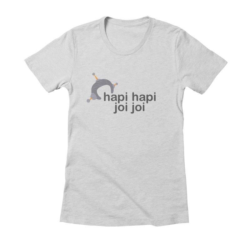 hapi hapi joi joi (Light) Women's Fitted T-Shirt by hapi.js