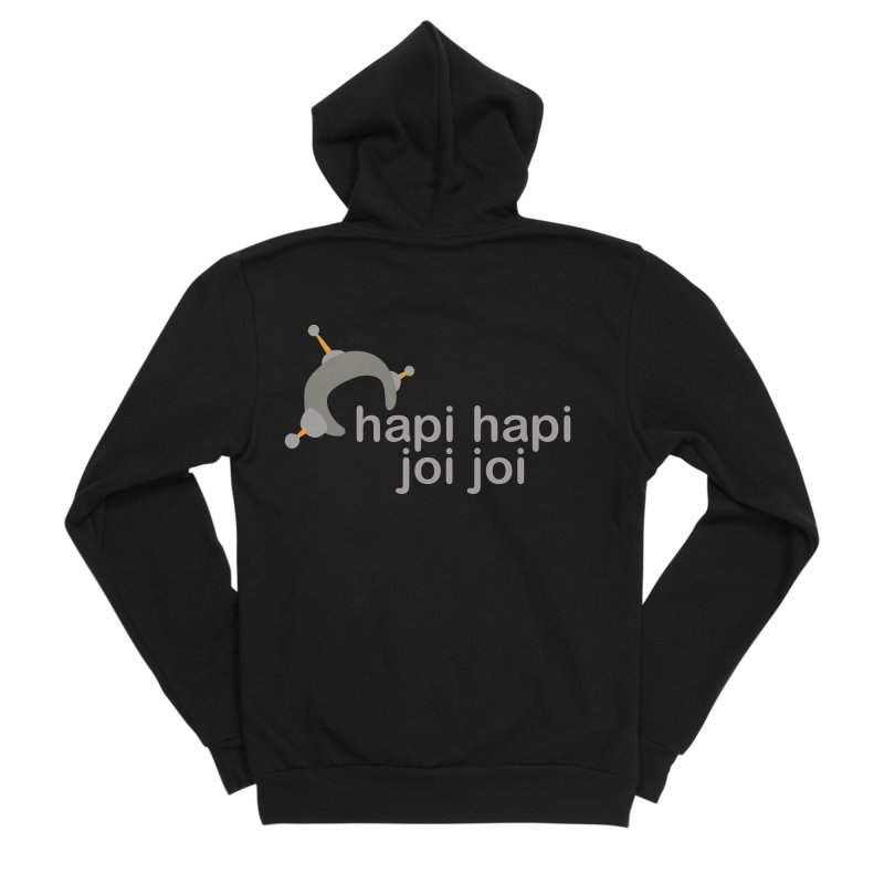 hapi hapi joi joi (Dark) Women's Sponge Fleece Zip-Up Hoody by hapi.js