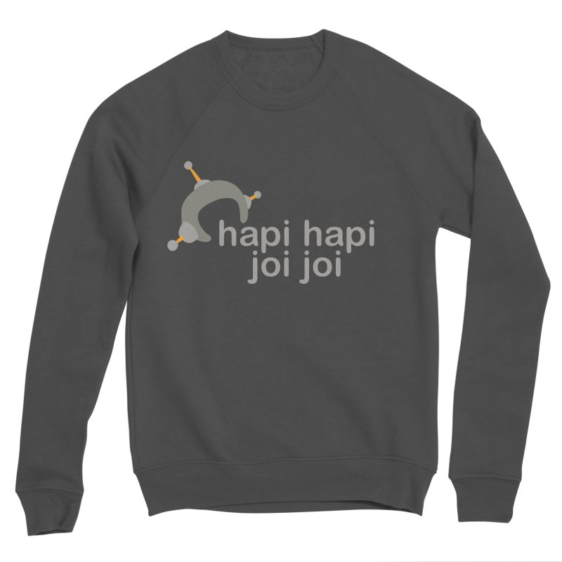 hapi hapi joi joi (Dark) Men's Sponge Fleece Sweatshirt by hapi.js