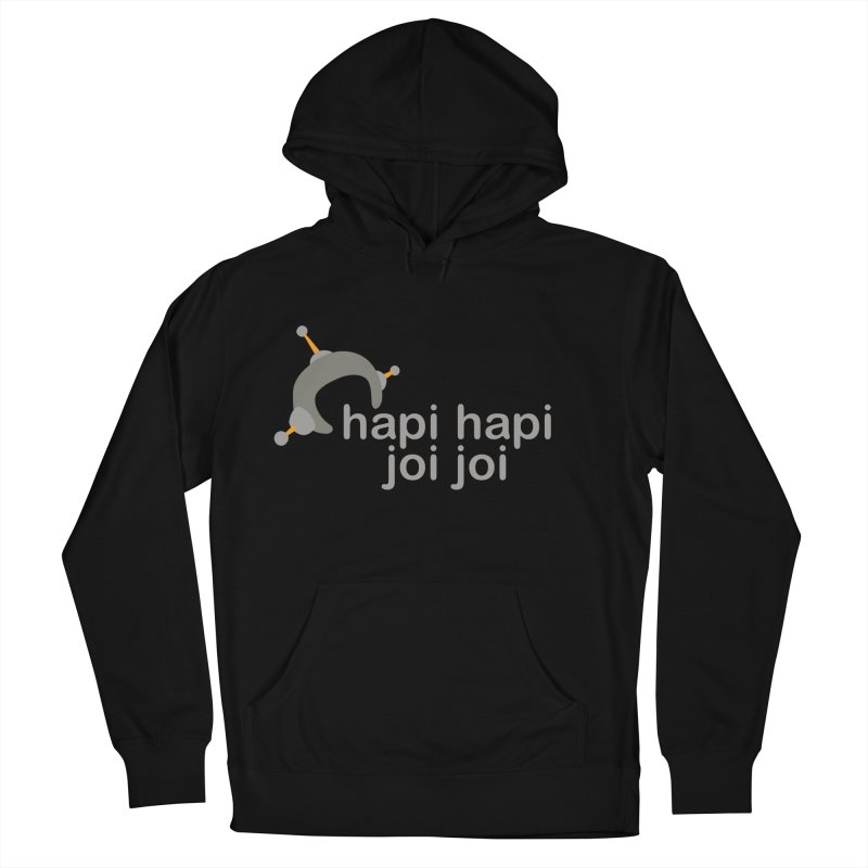hapi hapi joi joi (Dark) Women's French Terry Pullover Hoody by hapi.js