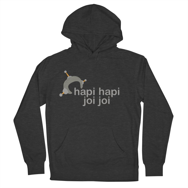 hapi hapi joi joi (Dark) Men's French Terry Pullover Hoody by hapi.js