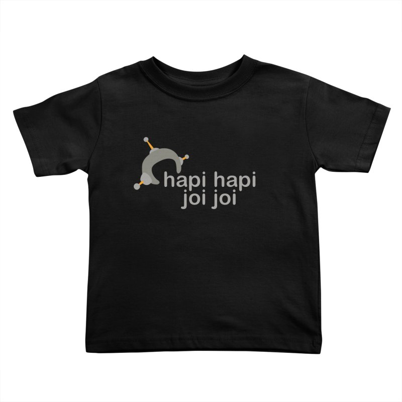 hapi hapi joi joi (Dark) Kids Toddler T-Shirt by hapi.js