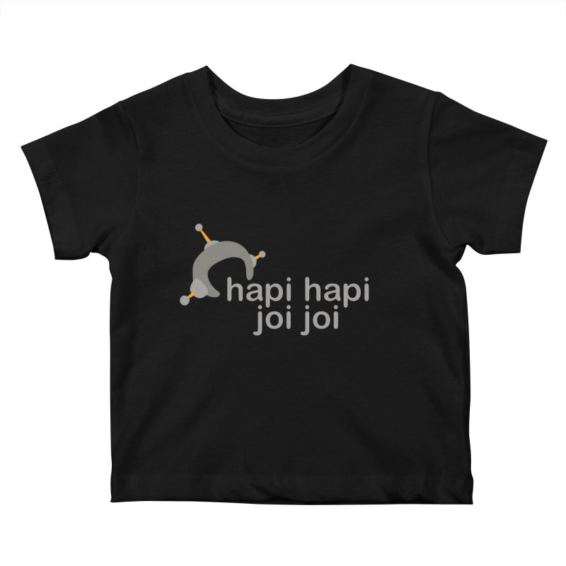 hapi hapi joi joi (Dark) Kids Baby T-Shirt by hapi.js