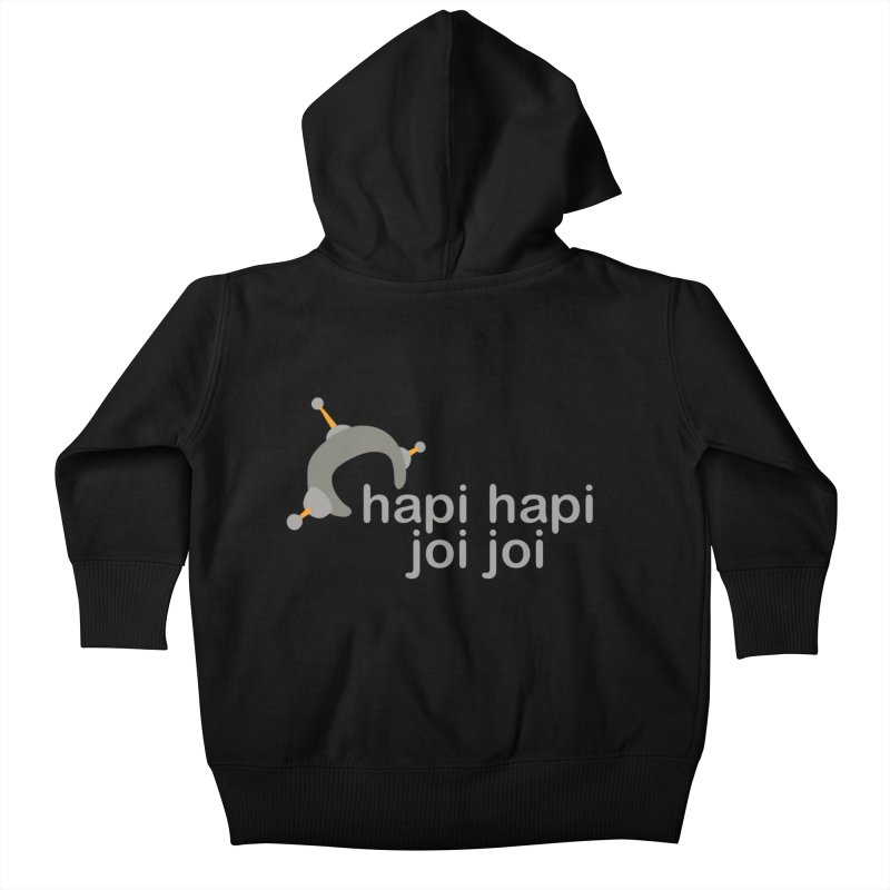 hapi hapi joi joi (Dark) Kids Baby Zip-Up Hoody by hapi.js