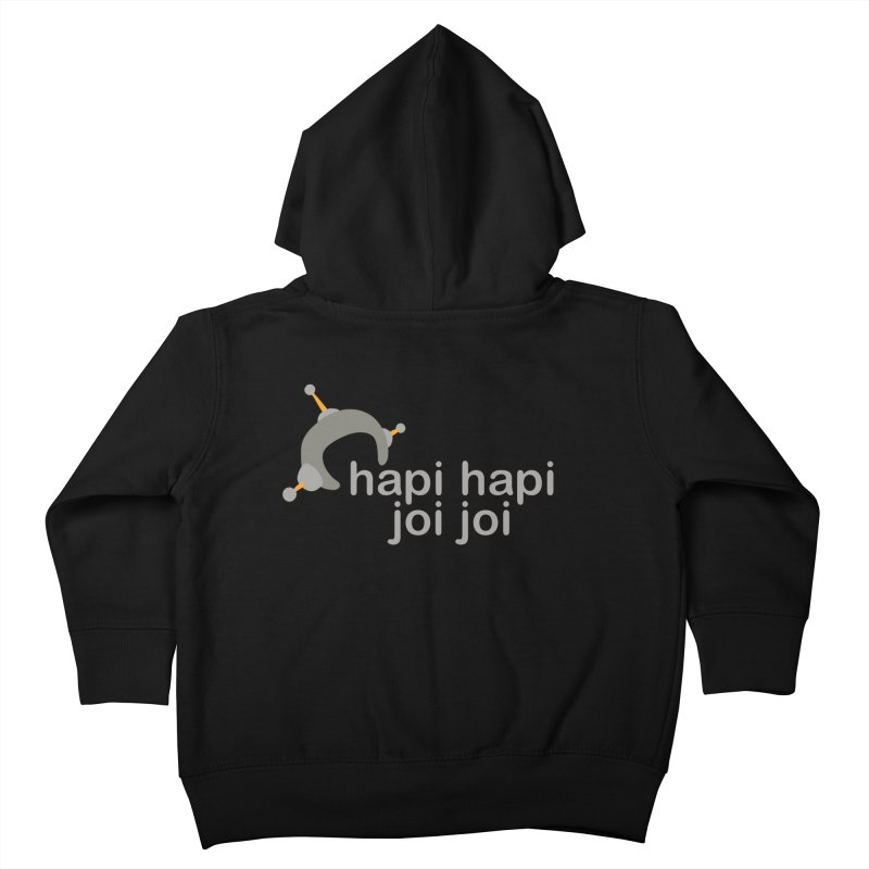 hapi hapi joi joi (Dark) Kids Toddler Zip-Up Hoody by hapi.js