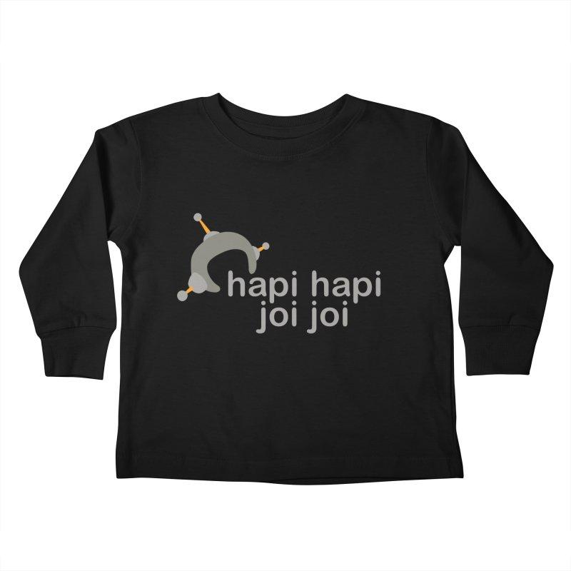hapi hapi joi joi (Dark) Kids Toddler Longsleeve T-Shirt by hapi.js