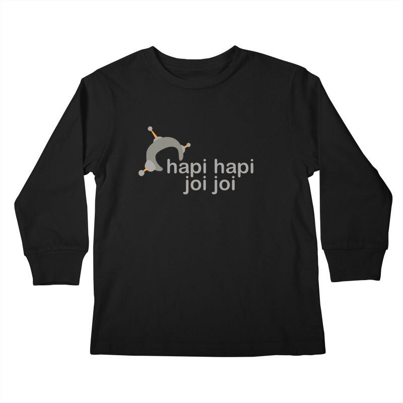 hapi hapi joi joi (Dark) Kids Longsleeve T-Shirt by hapi.js
