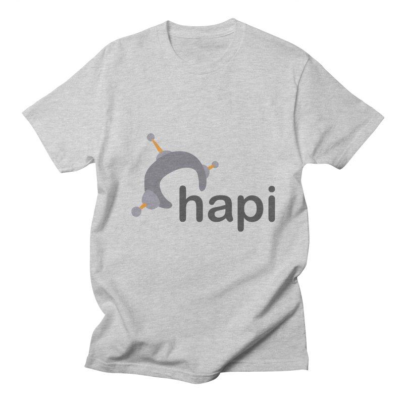 Logo (Light) Women's Regular Unisex T-Shirt by hapi.js