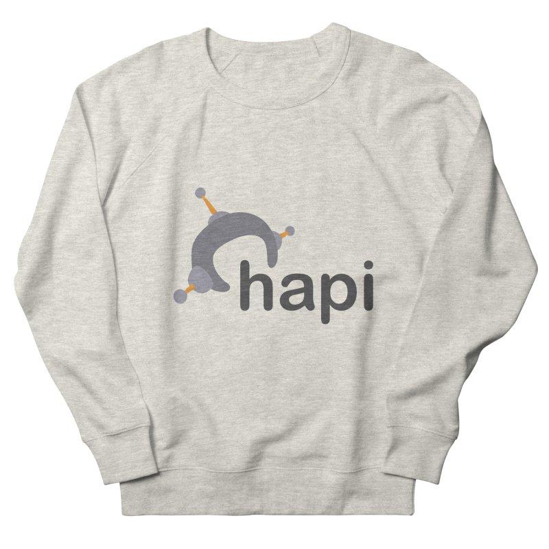 Logo (Light) Women's Sweatshirt by hapi.js