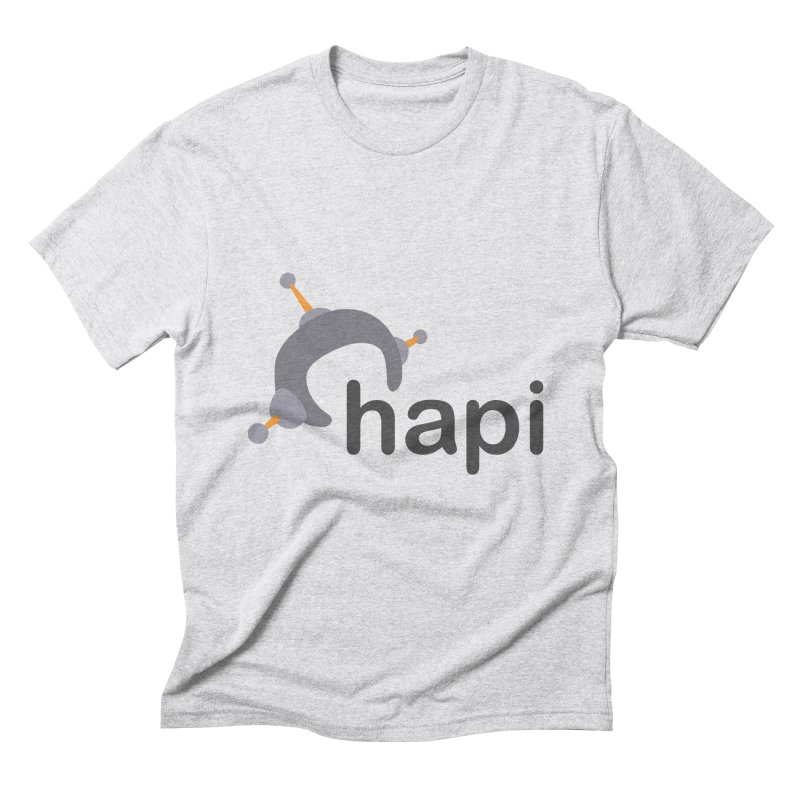 Logo (Light) Men's T-Shirt by hapi.js