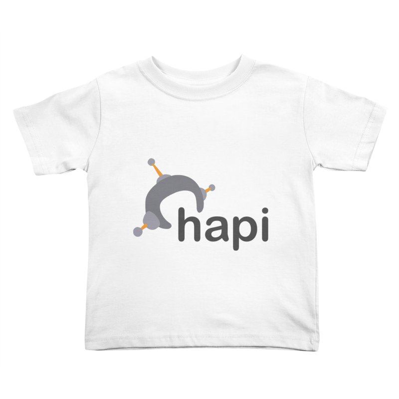 Logo (Light) Kids Toddler T-Shirt by hapi.js