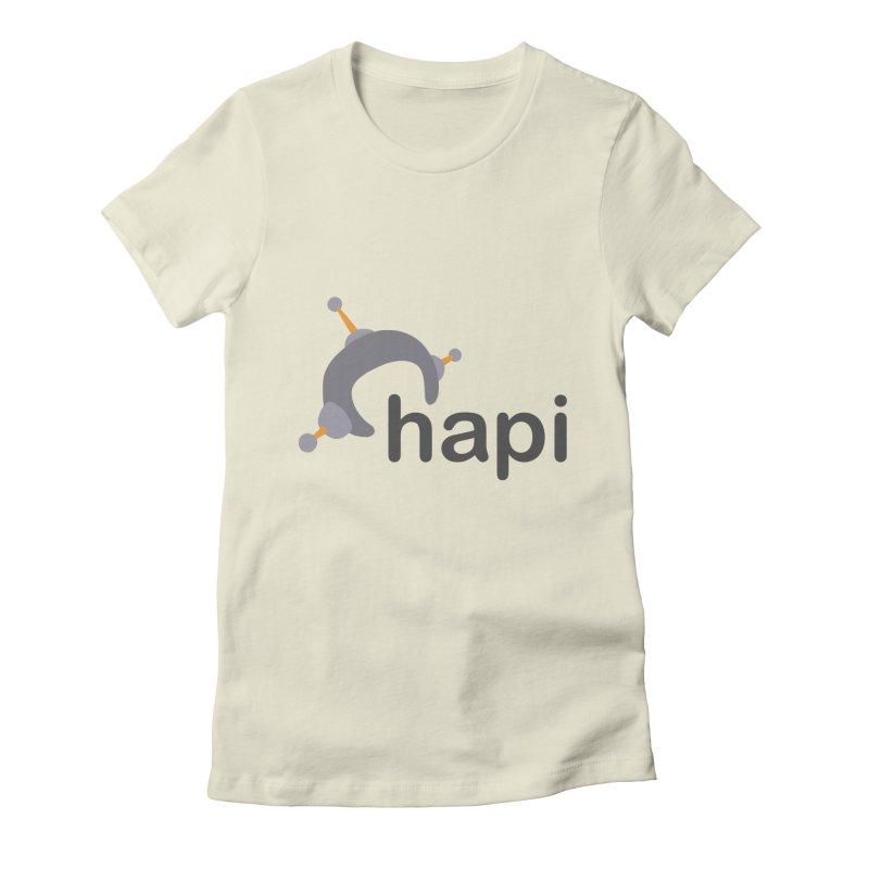 Logo (Light) Women's T-Shirt by hapi.js