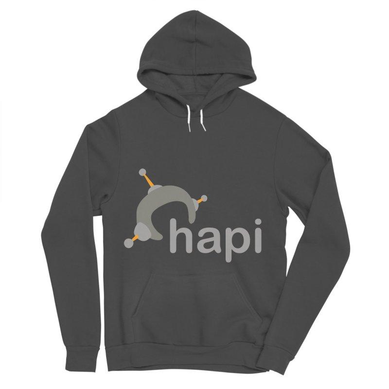 Logo (Dark) Women's Sponge Fleece Pullover Hoody by hapi.js