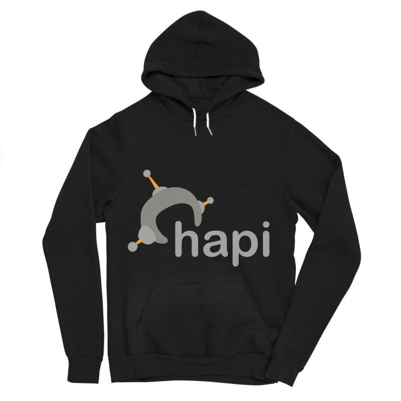 Logo (Dark) Men's Sponge Fleece Pullover Hoody by hapi.js