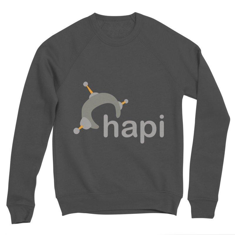 Logo (Dark) Men's Sponge Fleece Sweatshirt by hapi.js