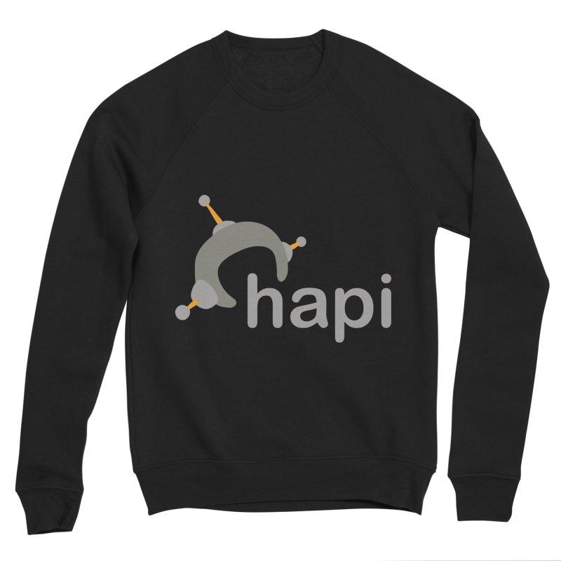 Logo (Dark) Women's Sponge Fleece Sweatshirt by hapi.js