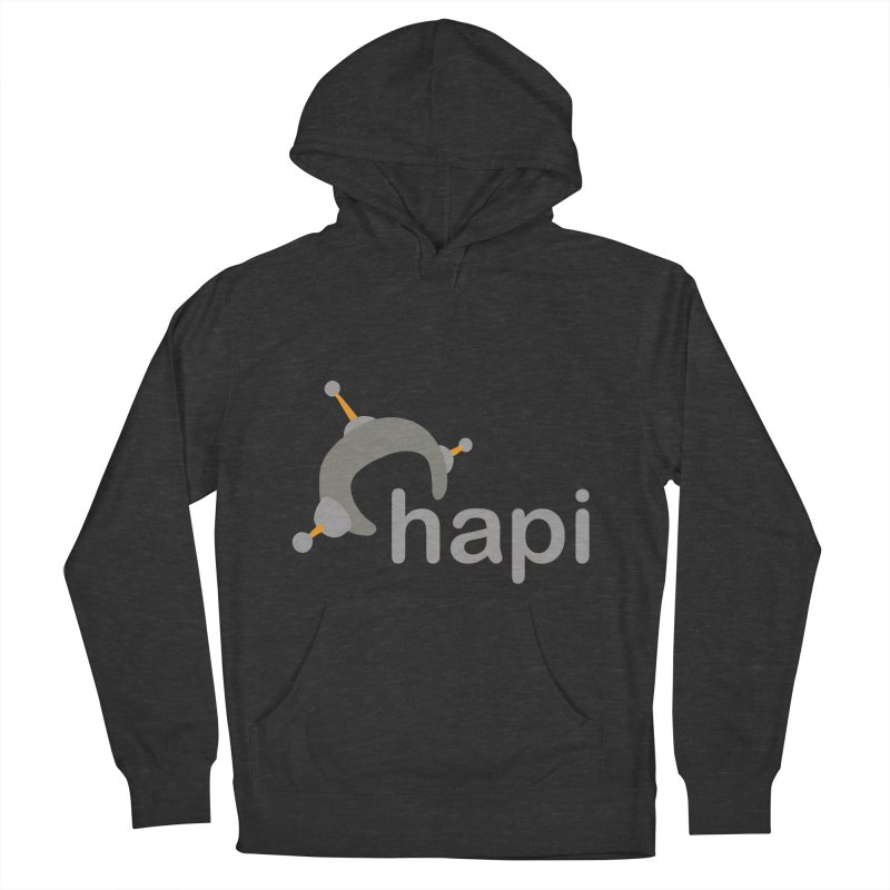 Logo (Dark) Women's French Terry Pullover Hoody by hapi.js