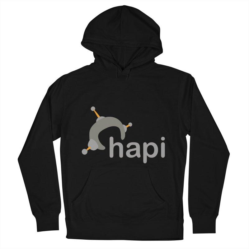 Logo (Dark) Men's French Terry Pullover Hoody by hapi.js