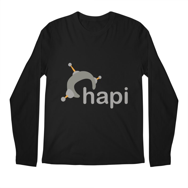 Logo (Dark) Men's Regular Longsleeve T-Shirt by hapi.js