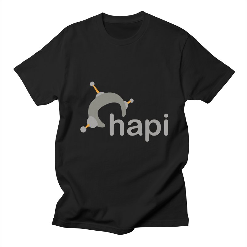 Logo (Dark) Men's Regular T-Shirt by hapi.js