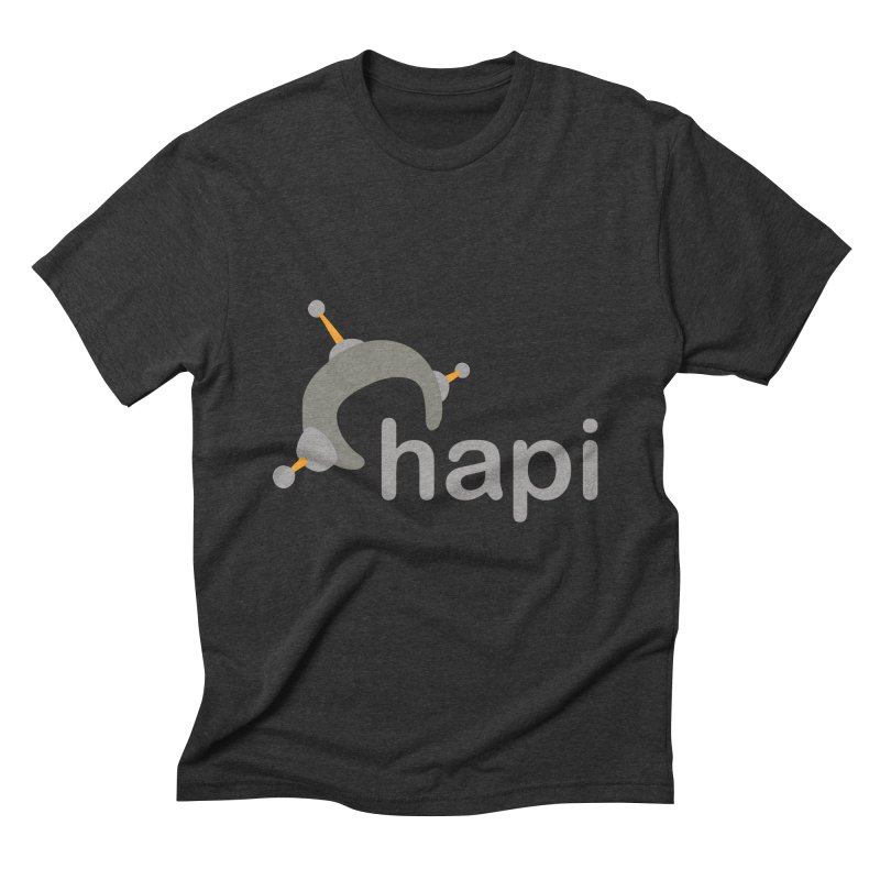Logo (Dark) Men's T-Shirt by hapi.js