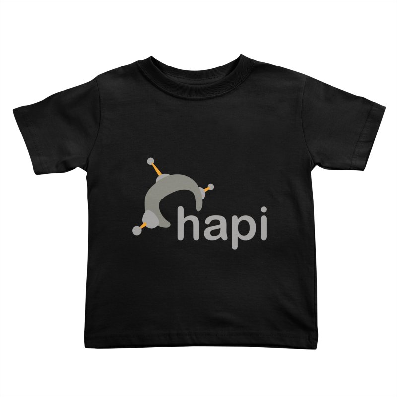 Logo (Dark) Kids Toddler T-Shirt by hapi.js
