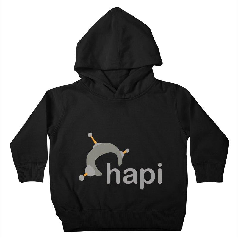 Logo (Dark) Kids Toddler Pullover Hoody by hapi.js