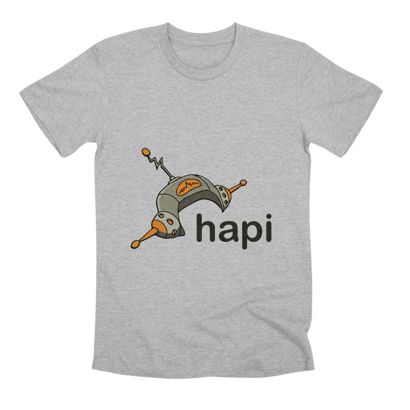 Old School Logo Men's T-Shirt by hapi.js