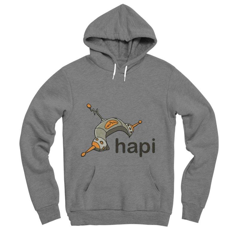 Old School Logo Women's Sponge Fleece Pullover Hoody by hapi.js
