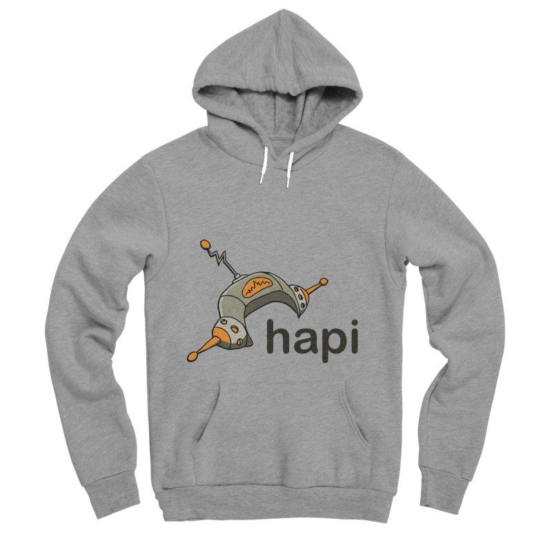 Old School Logo Men's Sponge Fleece Pullover Hoody by hapi.js