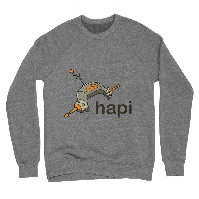 Old School Logo Women's Sponge Fleece Sweatshirt by hapi.js