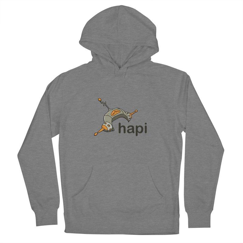 Old School Logo Women's Pullover Hoody by hapi.js