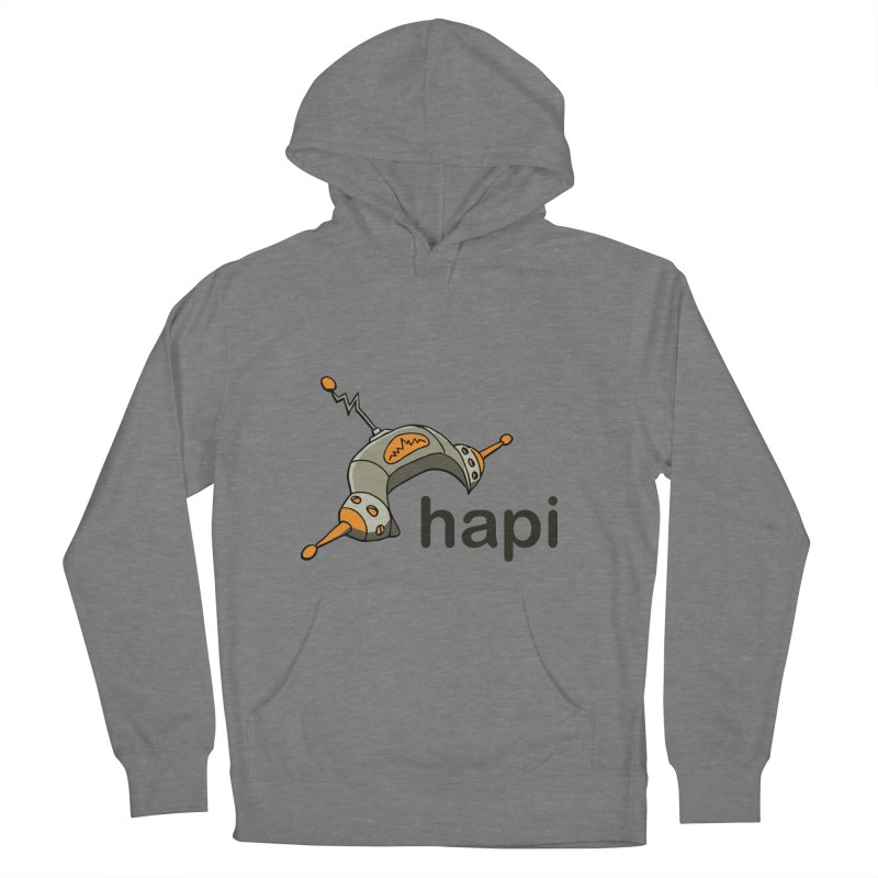 Old School Logo Women's French Terry Pullover Hoody by hapi.js