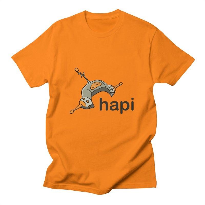 Old School Logo Women's Regular Unisex T-Shirt by hapi.js