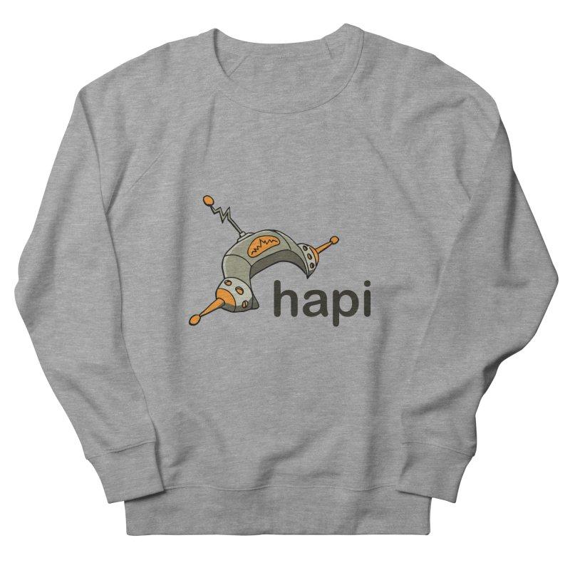 Old School Logo Men's French Terry Sweatshirt by hapi.js