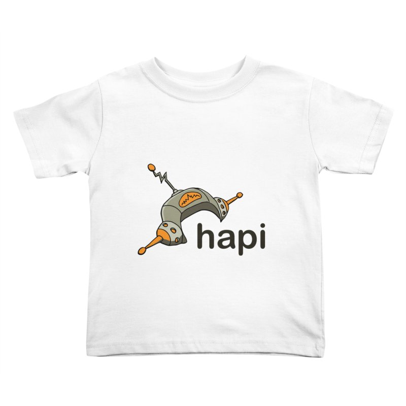 Old School Logo Kids Toddler T-Shirt by hapi.js