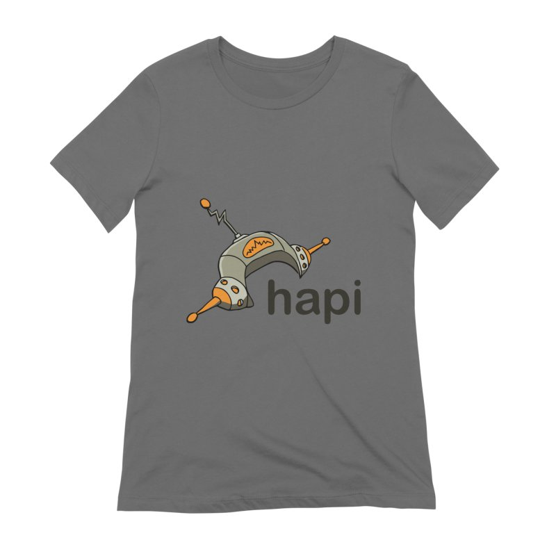 Old School Logo Women's T-Shirt by hapi.js