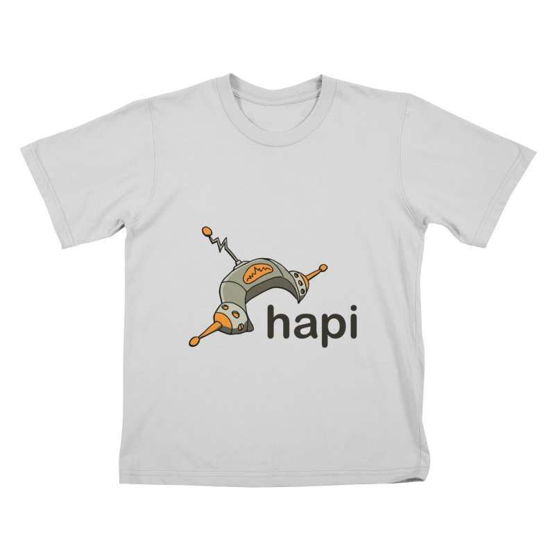 Old School Logo Kids T-Shirt by hapi.js