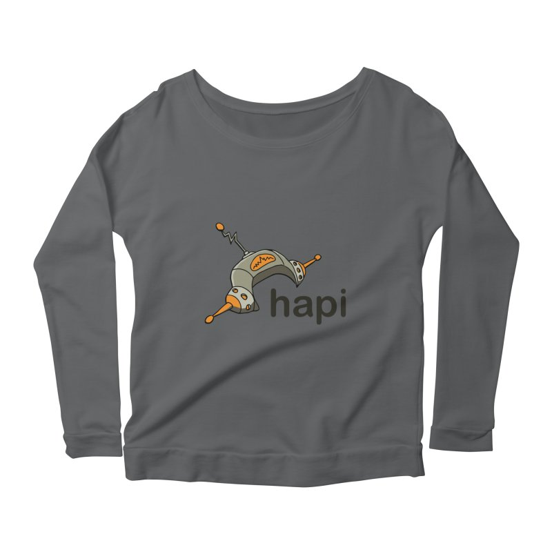 Old School Logo Women's Longsleeve T-Shirt by hapi.js
