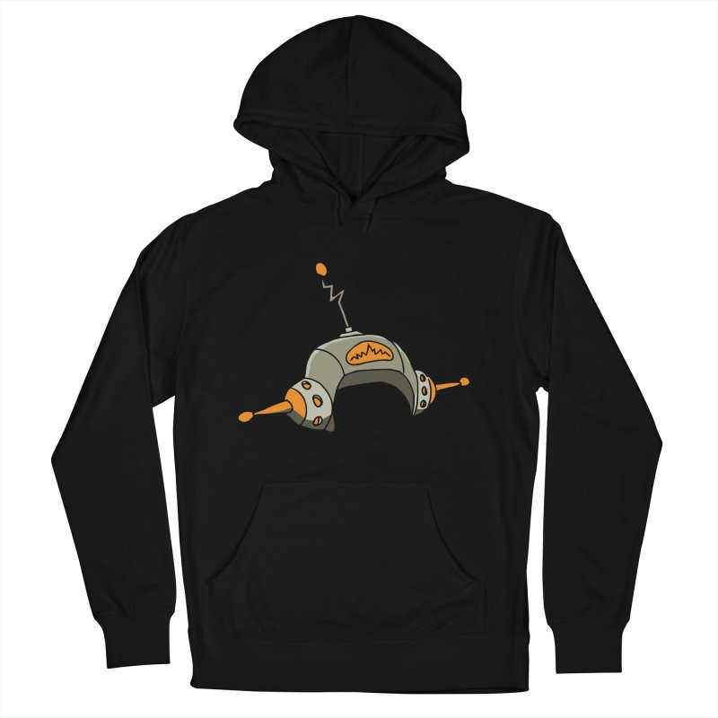 Old School Men's French Terry Pullover Hoody by hapi.js