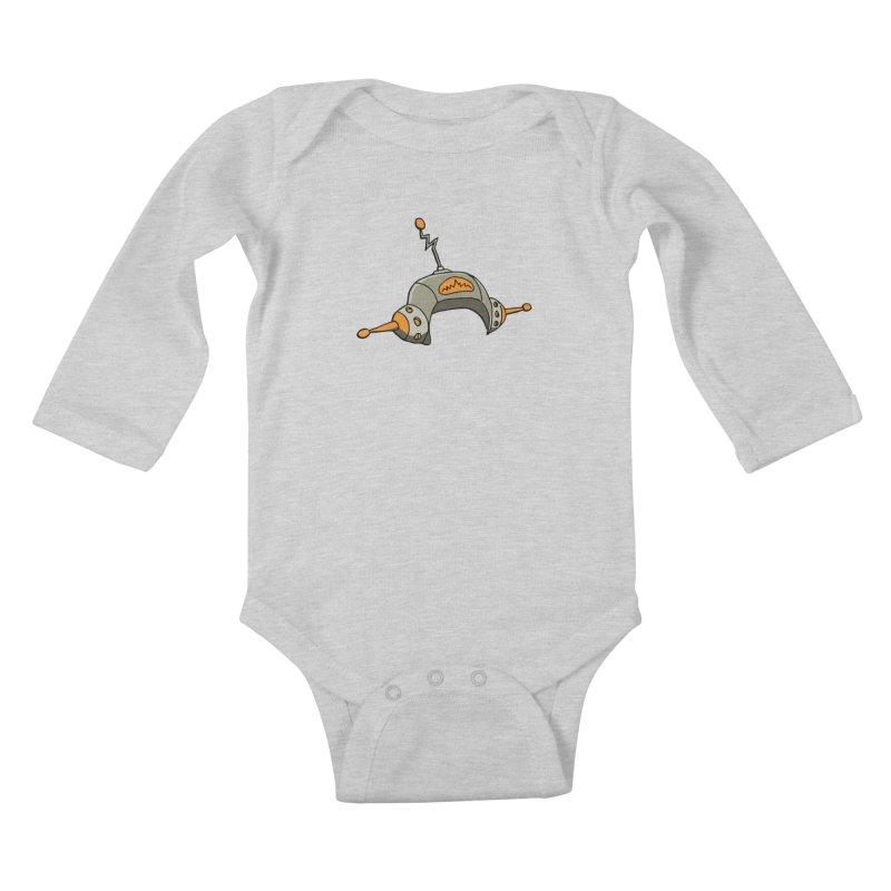 Old School Kids Baby Longsleeve Bodysuit by hapi.js