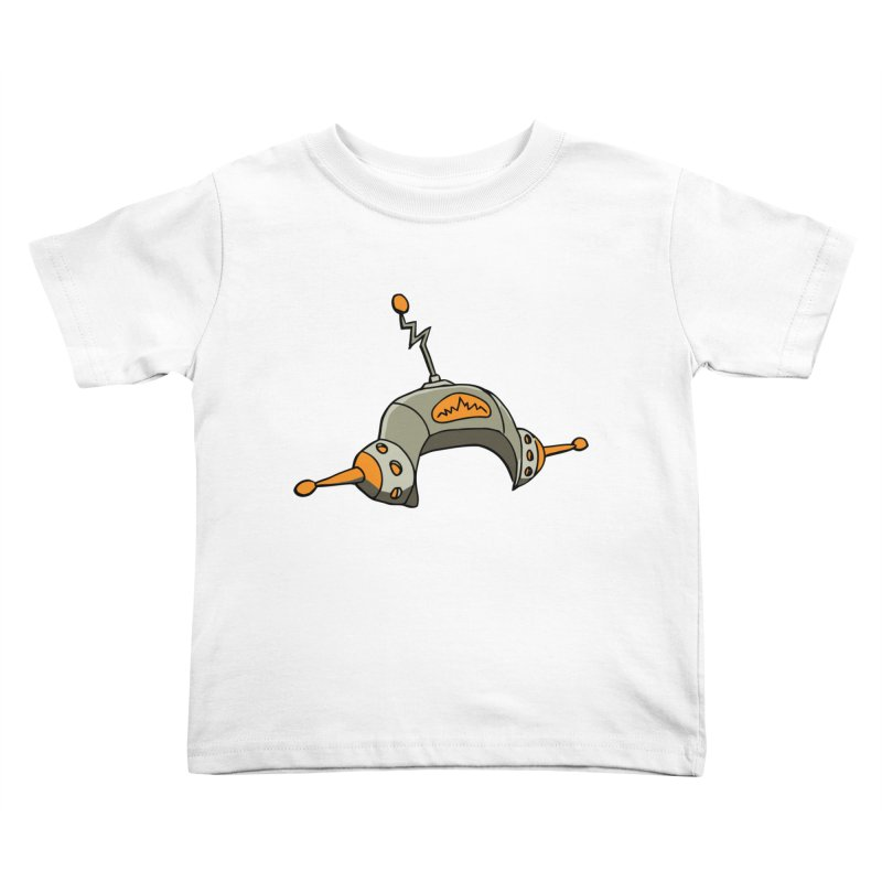 Old School Kids Toddler T-Shirt by hapi.js