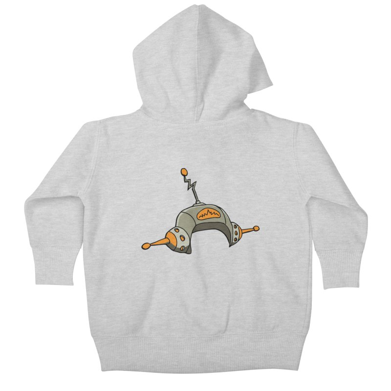 Old School Kids Baby Zip-Up Hoody by hapi.js