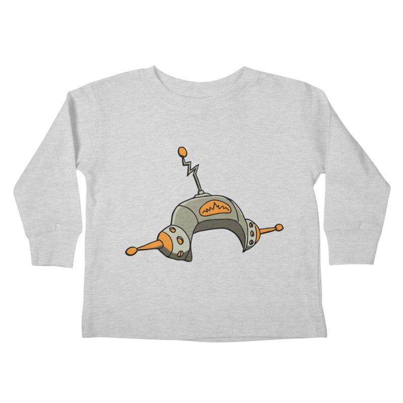 Old School Kids Toddler Longsleeve T-Shirt by hapi.js