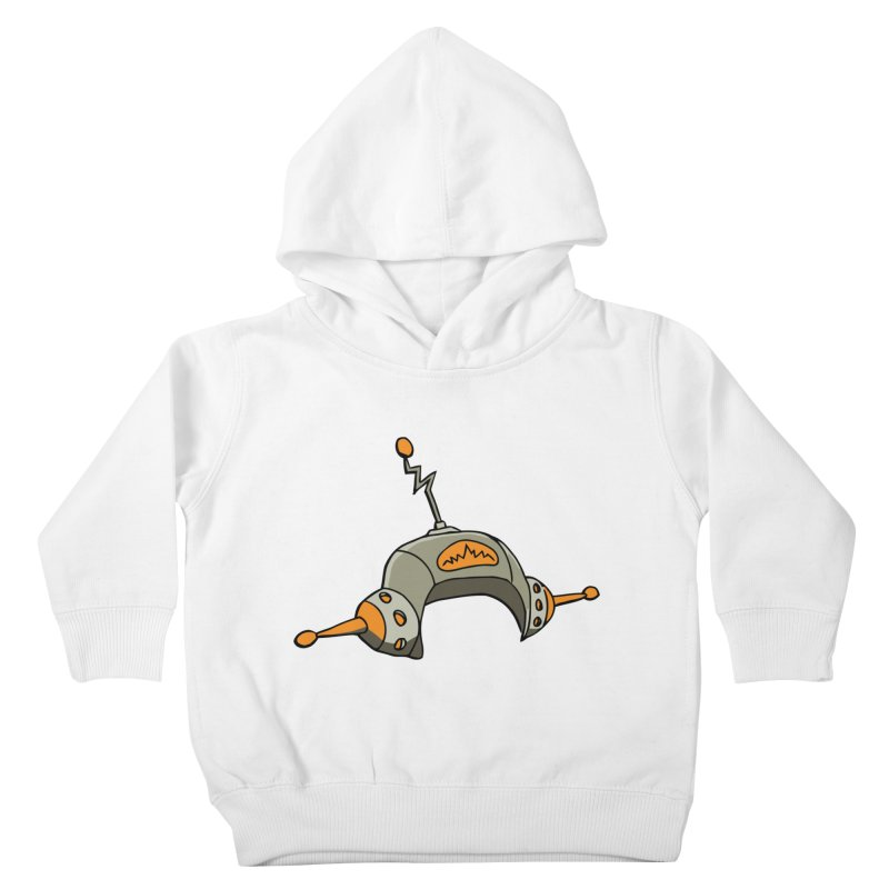 Old School Kids Toddler Pullover Hoody by hapi.js