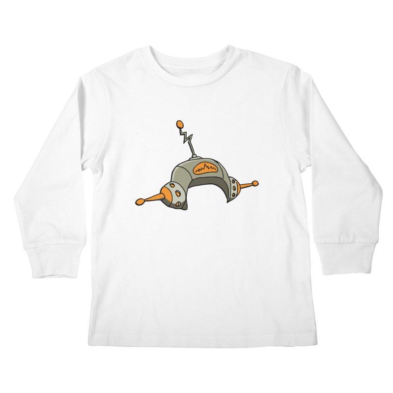 Old School Kids Longsleeve T-Shirt by hapi.js